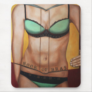The Book Of Bras Mouse Pad