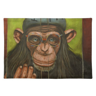 The Book Of Chimps Cloth Placemat