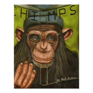 The Book Of Chimps Letterhead