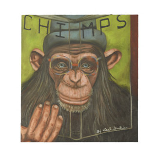 The Book Of Chimps Notepad