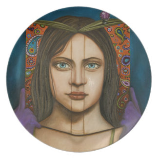 The Book Of Secrets Dinner Plate