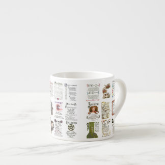 The Book of Shadows SPELLS, POTIONS Espresso Cup