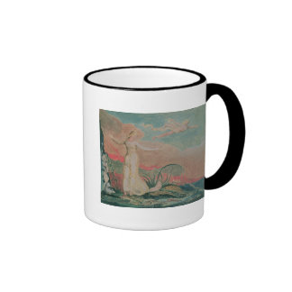 The Book of Thel; Plate 4 Thel in the Vale of Ringer Mug