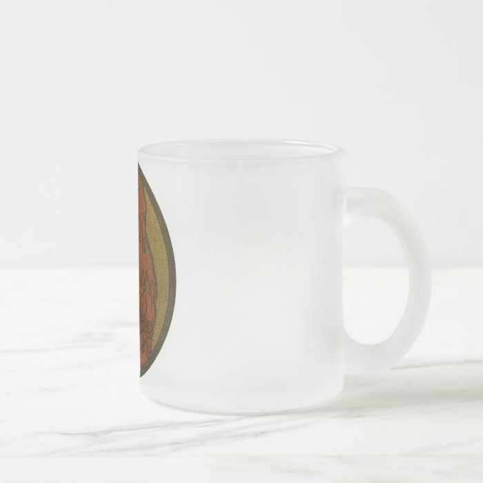 The Book Puzzler Frosted Glass Coffee Mug
