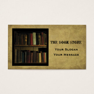 The Book Store- Business Card