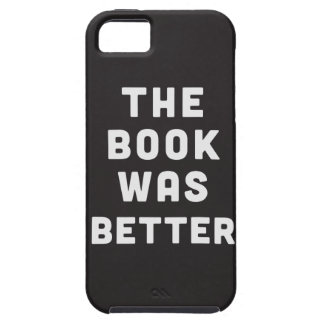 The book was better iPhone SE/5/5s case