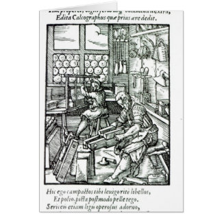 The Bookbinder, published by Hartman Schopper Cards
