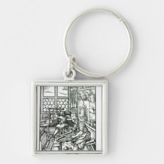 The Bookbinder, published by Hartman Schopper Keychain