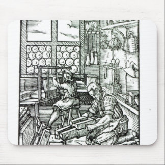 The Bookbinder, published by Hartman Schopper Mouse Pad
