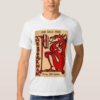 The Bookman basic white T-Shirt