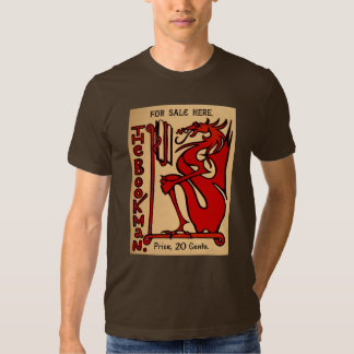 The Bookman brown T-Shirt