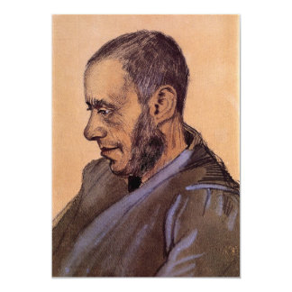 The Bookseller Blok by Vincent van Gogh Card