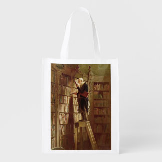 The Bookworm Grocery Bag