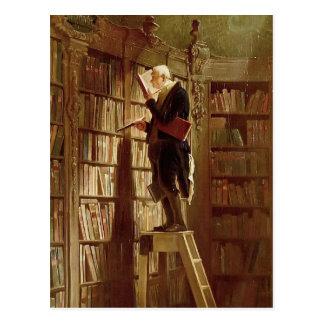 The Bookworm Postcard
