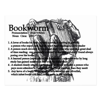 The Bookworm Postcard