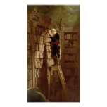 The Bookworm Poster