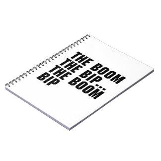 The Boom Bip Spiral Notebook