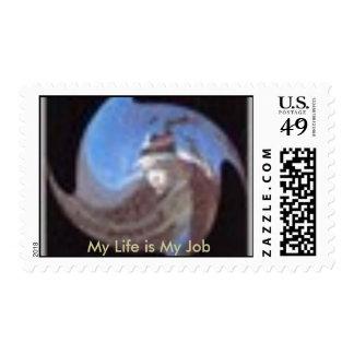 The Boomerang Child Postage Stamp 1