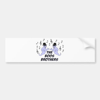 The Boos Brothers Bumper Stickers