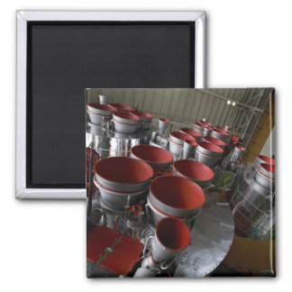 The boosters of the Soyuz TMA-14 spacecraft 2 2 Inch Square Magnet