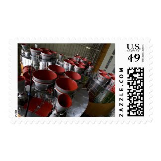 The boosters of the Soyuz TMA-14 spacecraft 2 Postage Stamps
