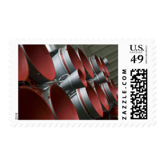 The boosters of the Soyuz TMA-14 spacecraft 3 Postage