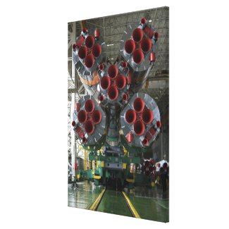 The boosters of the Soyuz TMA-14 spacecraft Canvas Print