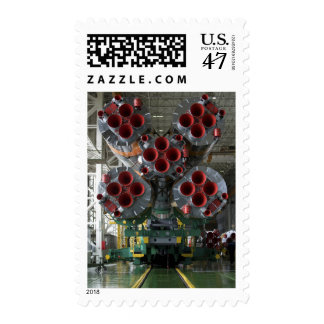The boosters of the Soyuz TMA-14 spacecraft Postage