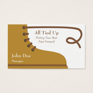 The Boot Business Card