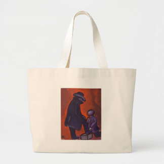 THE BOOTBLACK LARGE TOTE BAG