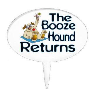 The Booze Hound Returns Cake Topper