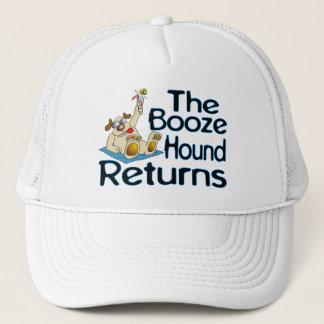 The Booze Hound Returns Trucker Hat