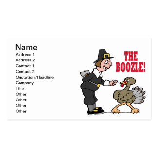 The Boozle Double-Sided Standard Business Cards (Pack Of 100)