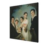 The Boratynsky Family, 1816 Canvas Print