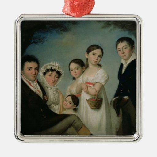The Boratynsky Family, 1816 Metal Ornament