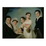 The Boratynsky Family, 1816 Postcard