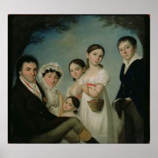 The Boratynsky Family, 1816 Posters