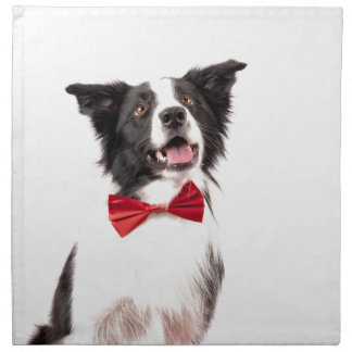 The Border Collie Printed Napkin