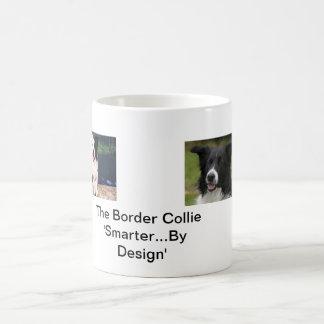 The Border Collie 'Smarter By Design' Coffee Mug
