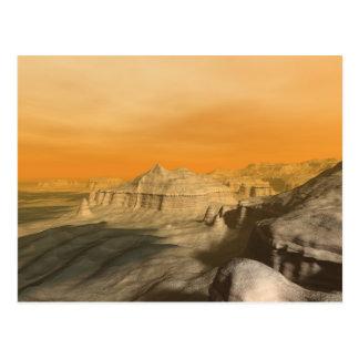 The borderlands of Xanadu Postcard
