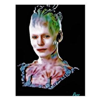 The Borg Queen Postcard