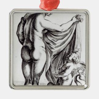 The Borghese Venus, c.1653 Metal Ornament