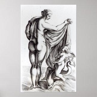 The Borghese Venus, c.1653 Poster
