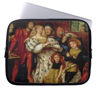 The Borgia Family, 1863 Laptop Computer Sleeves