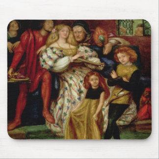 The Borgia Family, 1863 Mouse Pad