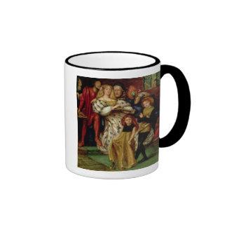 The Borgia Family, 1863 Ringer Coffee Mug