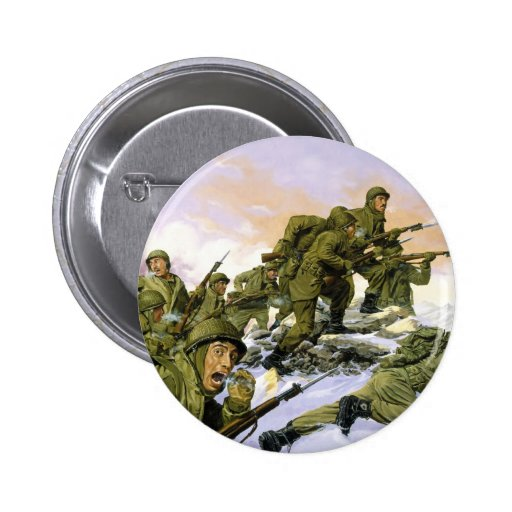 The Borinqueneers by Dominic D'Andrea 2 Inch Round Button