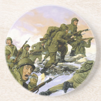 The Borinqueneers by Dominic D'Andrea Coasters