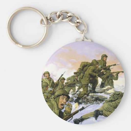The Borinqueneers by Dominic D'Andrea Key Chains
