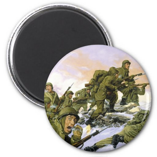 The Borinqueneers by Dominic D'Andrea Fridge Magnets
